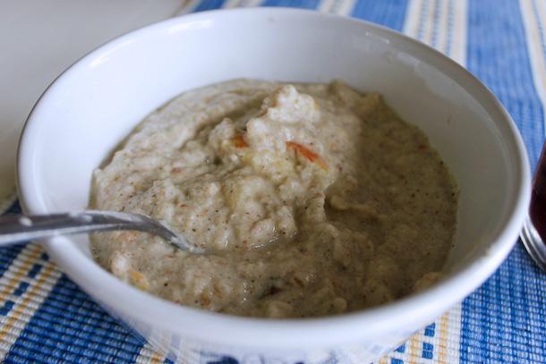 Råfrisk & Råsnygg: 110618: Bovetegröt & morotäppleröbetsjuice