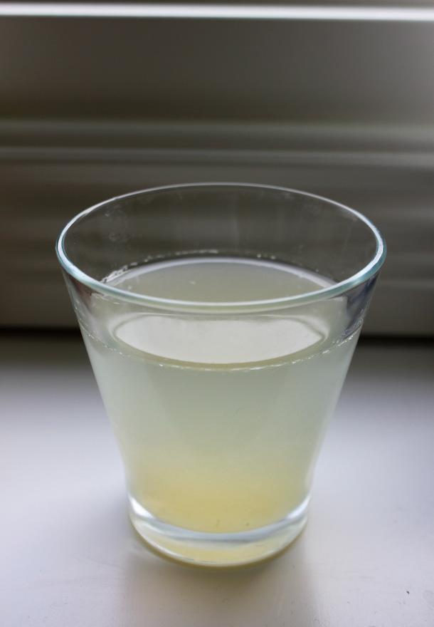 Råfrisk & Råsnygg: 110620: Citronvatten