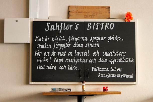 Råfrisk & Råsnygg: 110628: Sahflor's Skafferi & Bistro