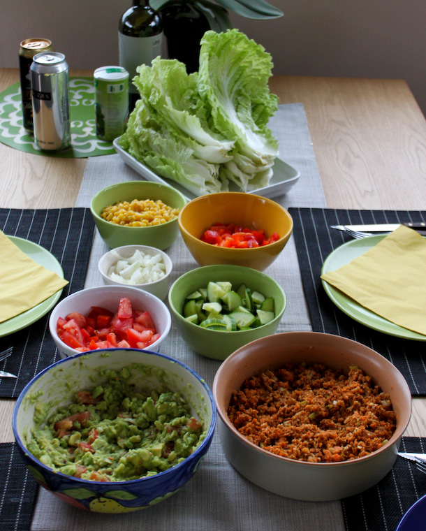 Råfrisk & Råsnygg: Raw Taco Night!