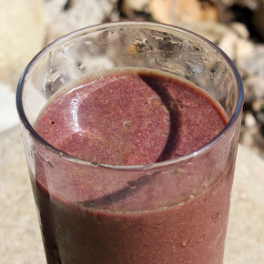 Acai/Banana/Carrot Smoothie