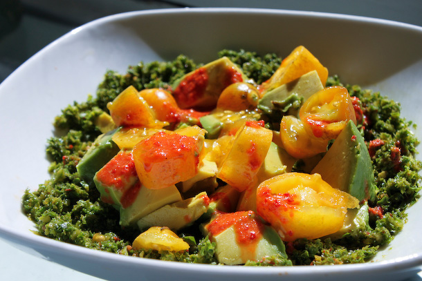 Råfrisk: 111018: Kale-chop