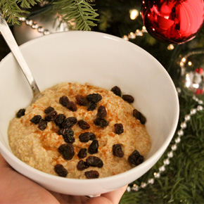 Raw Julgröt (Christmas Porridge)