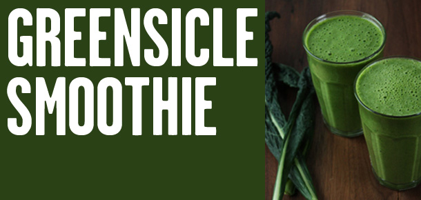 Råfrisk: 120202: Greensicle Smoothie