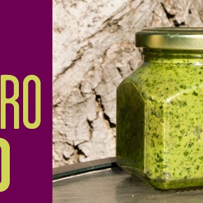 Raw Cilantro Pesto
