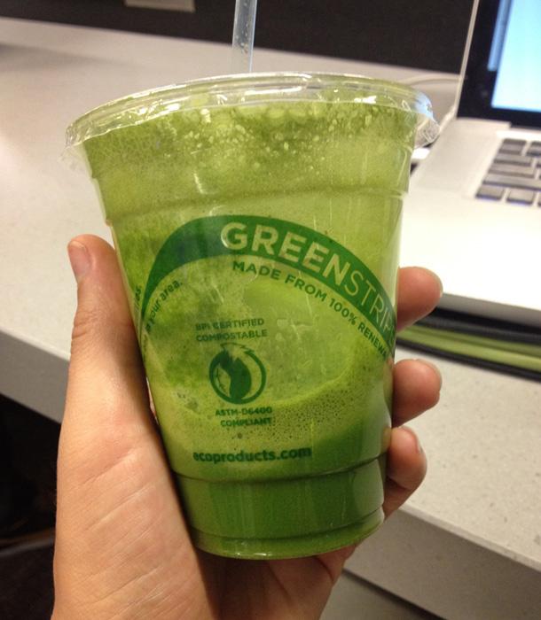 Råfrisk: Green Juice at SFO