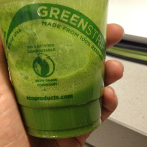 Green Juice at SFO