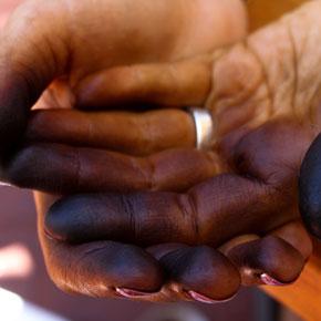 Black Walnuts, Black Hands