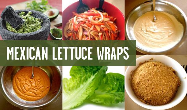 Råfrisk: 120915: PM's Mexican Lettuce Wraps