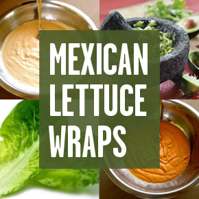 PM's Mexican Lettuce Wraps